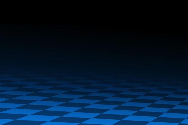 Czarno-niebieskie abstrakcyjne tło wyścigowe stylizowane podobnie do flagi wyścigowej w szachownicę