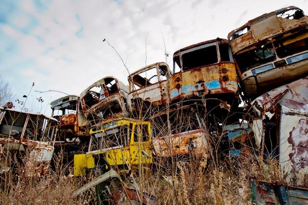 Czarnobylskie urządzenia zrzutowe w prypeci
