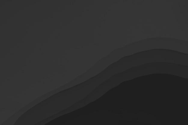 Czarny abstrakcyjny obraz tapety w tle