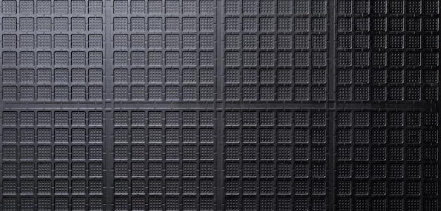 Czarny ceramiczny wzór tekstury tła