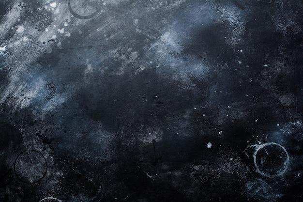 Czarny ciemny kamień lub ściana łupkowa. tabela tekstury grunge.