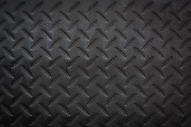 Czarny diamentowy talerz.