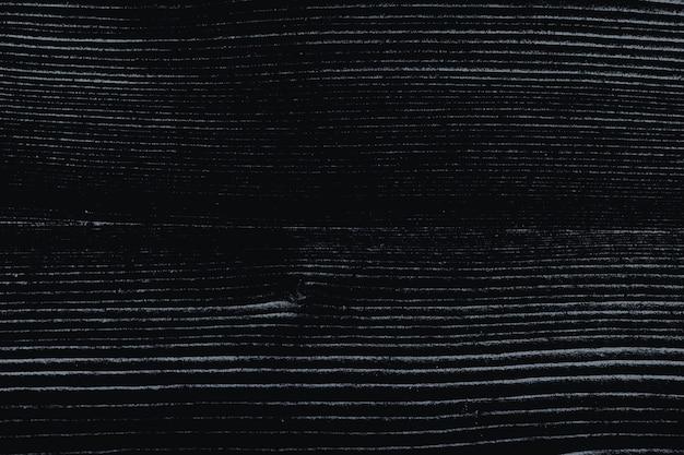 Czarny drewniany teksturowany wzór tła