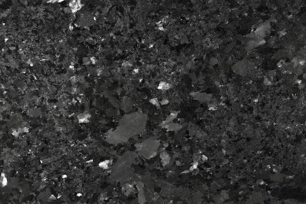 Czarny granit zbliżenie tekstury. zdjęcie w wysokiej rozdzielczości.