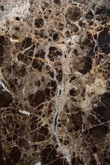 Czarny i brązowy marmur tekstura tło. streszczenie naturalnej powierzchni marmuru