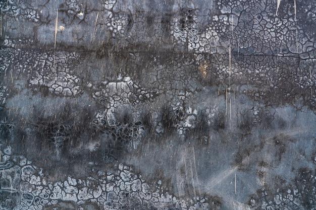 Czarny i szary brudny betonowy mur tekstury tło ciemny grunge betonowa ściana tekstury tła
