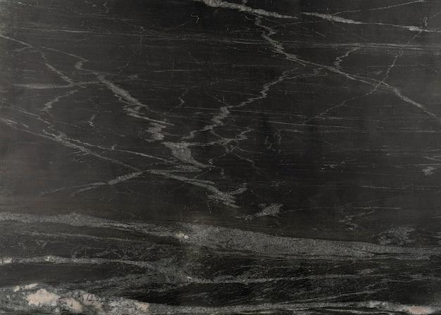 Czarny marmur naturalny wzór na tle, czarno-biały kamień tekstury