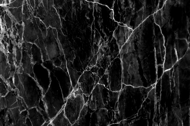 Czarny marmurowy tekstury tła wzór