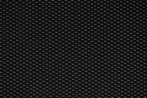 Czarny materiał ze sztucznej skóry