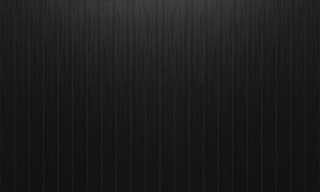 Czarny pionowo drewniany panel ściany tło