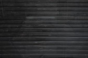 Czarny profilowany arkusz