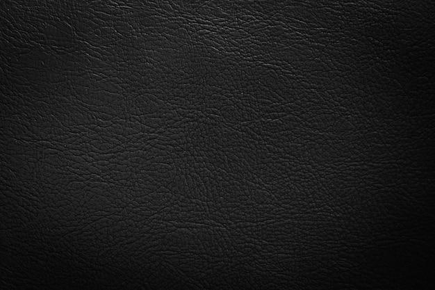 Czarny rzemienny tekstury tło