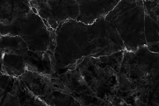 Czarny szary marmur tekstura o wysokiej rozdzielczości, widok z góry naturalnego kamienia płytki