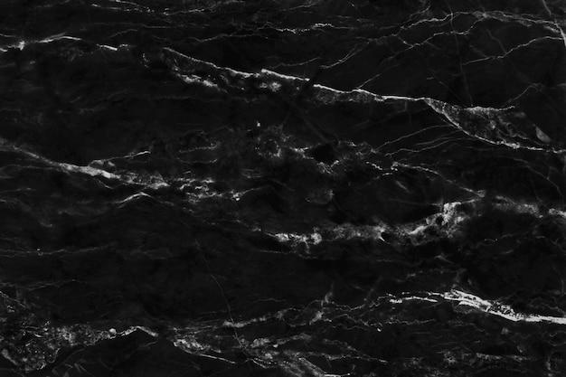 Czarny szary marmur tekstura tło, kamienna podłoga z naturalnych płytek.