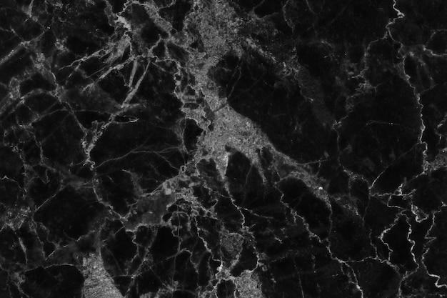 Czarny szary marmur tekstura tło, naturalne kamienne płytki podłogowe z bezszwową brokatem powierzchni