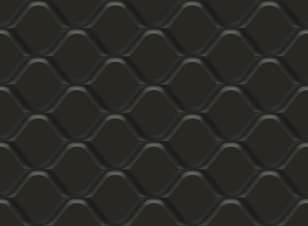 Czarny wzór dekoracyjny