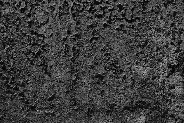 Czarnym grunge ścianie