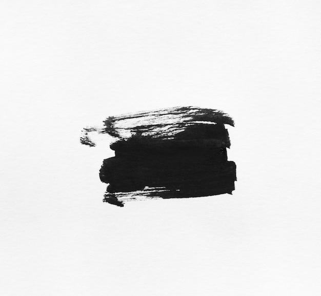 Czarnym tuszem streszczenie kształt tła.