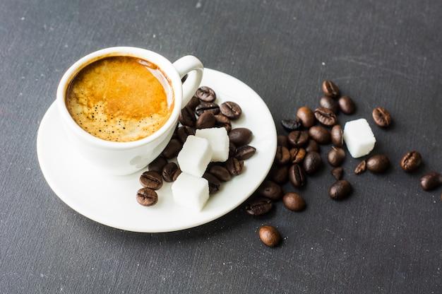 Czas na kawę rustykalną