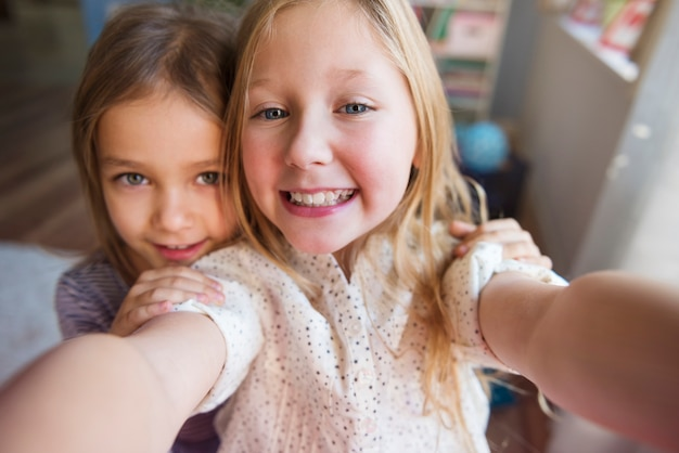 Czas na selfie z moją siostrą