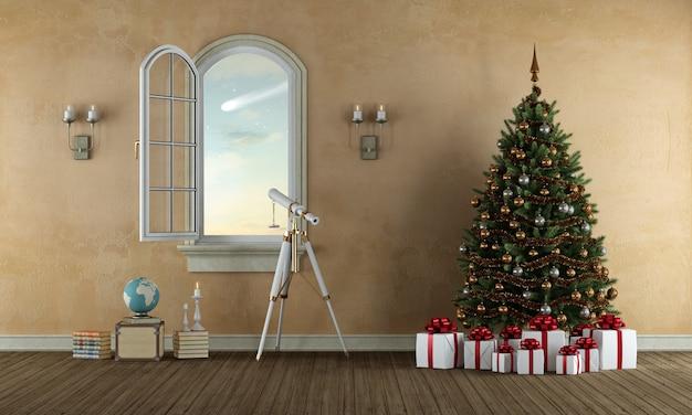 Czekam świąt w starym pokoju