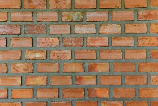 Czerwona cegła ściana tekstura tło wzór streszczenie