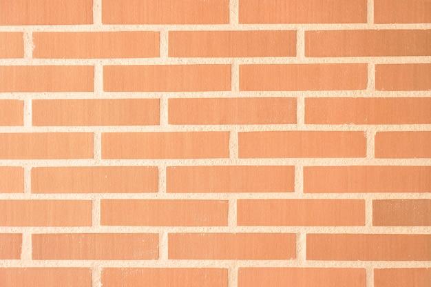 Czerwona cegła ściana tekstura tło