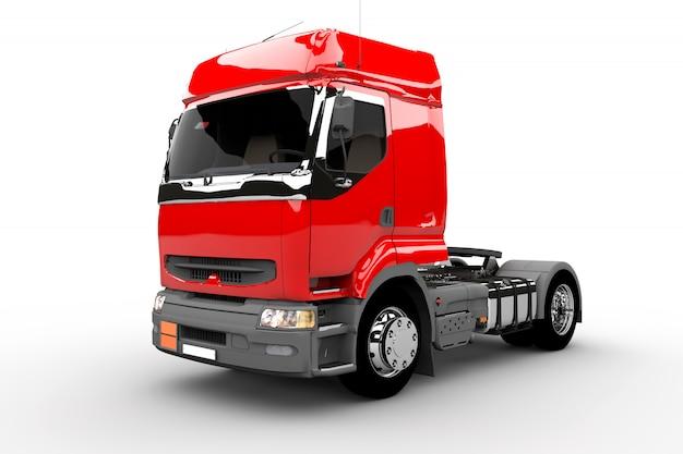 Czerwona ciężarówka