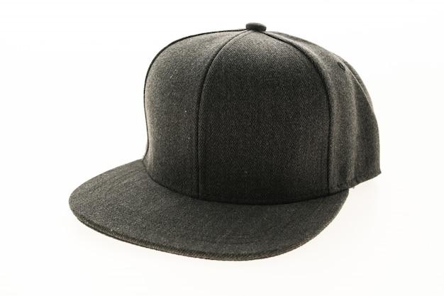 Czerwona czapka ochrona tła ubrania