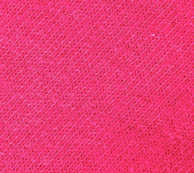 Czerwona dzianina tekstura streszczenie tło.