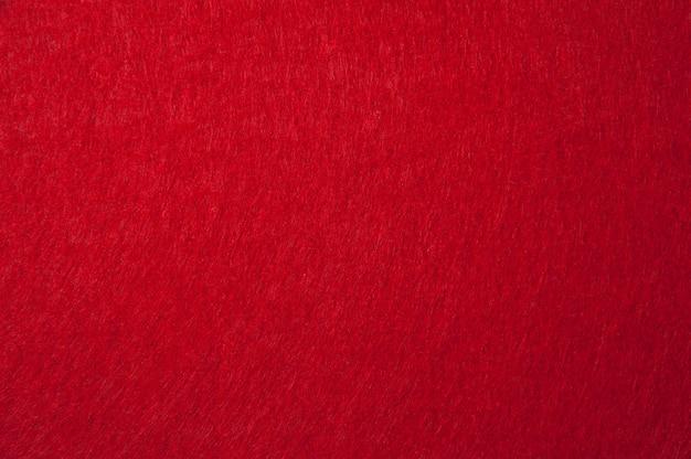 Czerwona filcowa tekstura dla tła