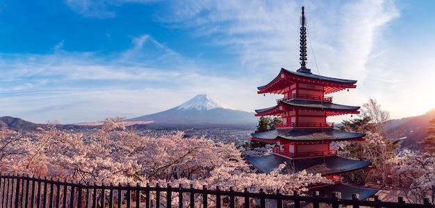 Czerwona pagoda chureito