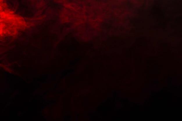 Czerwona para na czarnym.