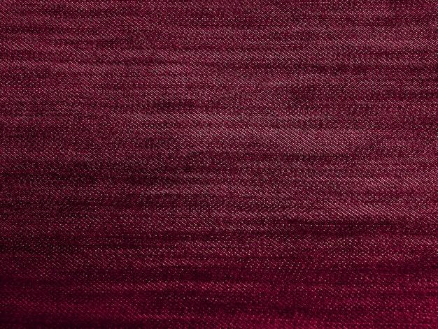 Czerwona purpurowa tkaniny tekstura