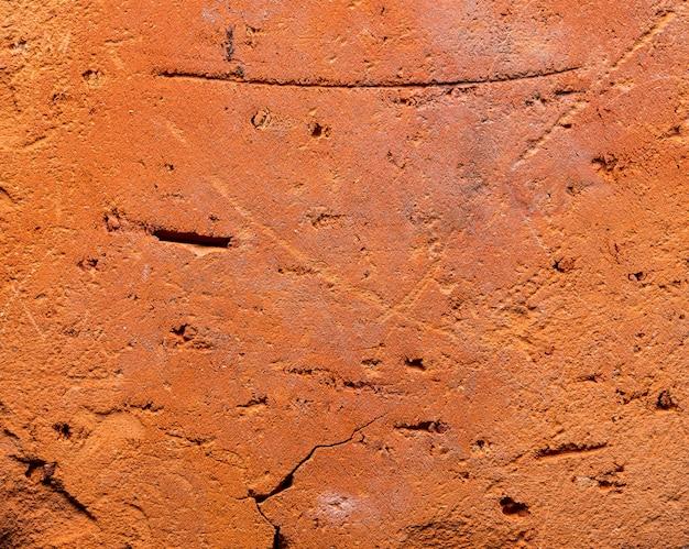 Czerwona ściana tekstura tło