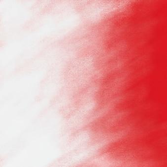 Czerwona ściana z białym tłem w sprayu