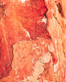 Czerwona skała tekstura