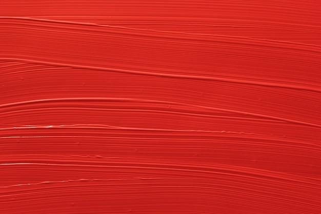 Czerwona szminka płynna tekstura