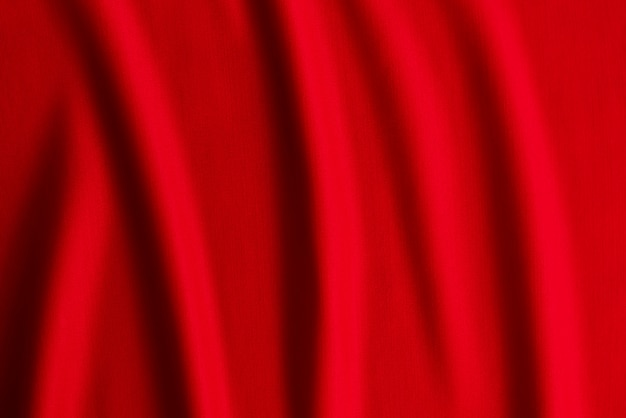 Czerwona tkanina, tekstura fali tkaniny