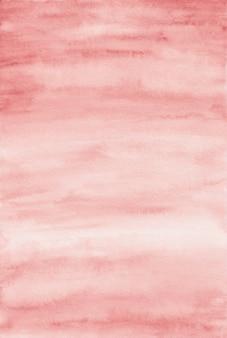 Czerwonawo-brązowa akwarela tekstury, tło nakładki, wysokiej rozdzielczości
