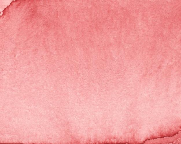 Czerwonawo-brązowy tekstura papieru w tle akwarela