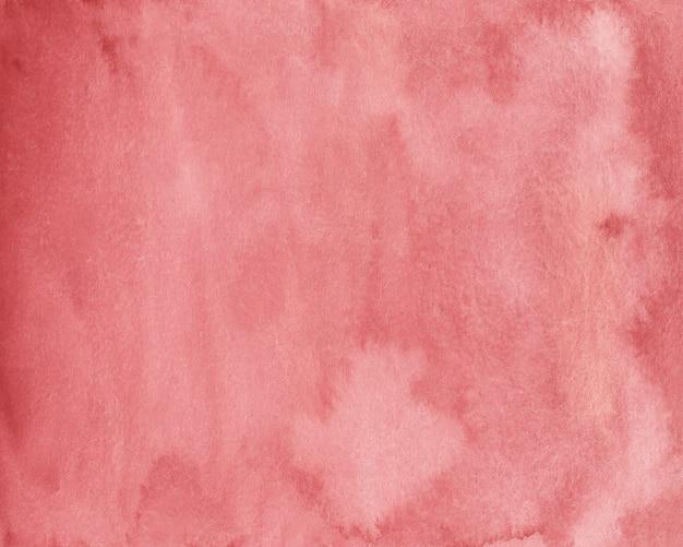 Czerwonawo-brązowy tekstura tło akwarela