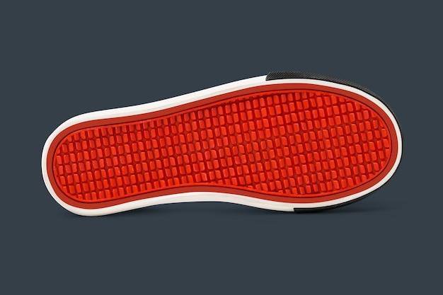 Czerwone buty podeszwa obuwia moda
