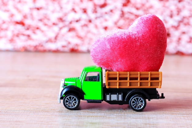 Czerwone Serce Walentynki Premium Zdjęcia