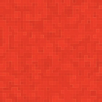 Czerwone szkło ceramiczne kolorowe płytki mozaiki wzór tła
