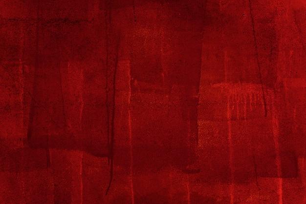 Czerwone tło betonu