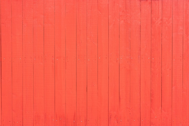 Czerwone tło drewna