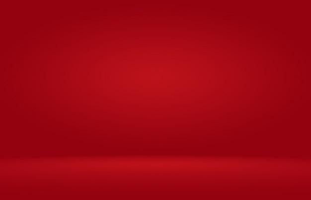 Czerwone tło i wyświetl swój produkt