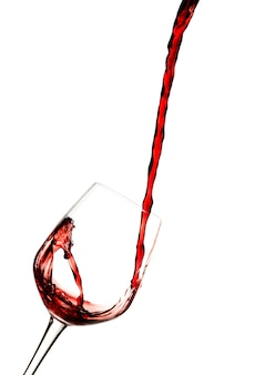 Czerwone wino.