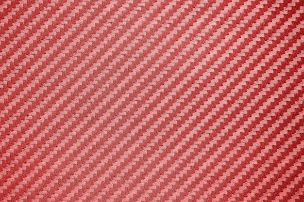 Czerwonego węgla włókna złożony surowy tło
